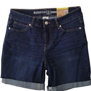 Roebuck & Co. Bermuda Jean Shorts 10